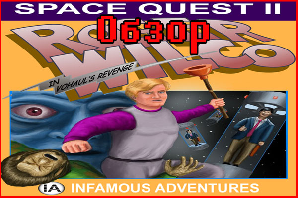 Ретро-обзор Space Quest II: Vohaul's Revenge (1987)